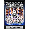 Super Bowl XLVI Champions New York Giants Commemorative Plaque