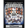 Super Bowl XLVI New England Patriots Plaque