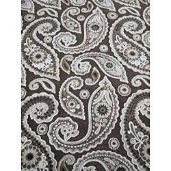 Madison Dark Brown Rug (5'3 x 7'7)