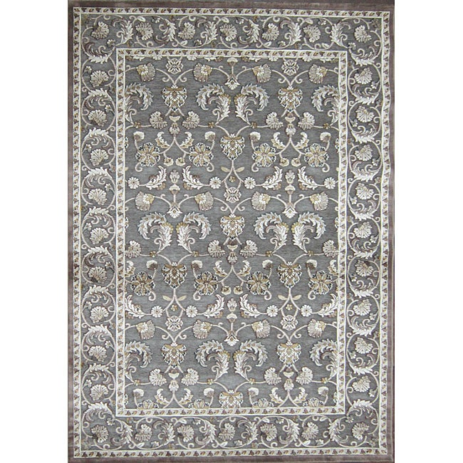 Madison Grey/ Gold Rug (7'7 x 10'6)