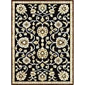Madison Black/ Gold Rug (5'3 x 7'7)