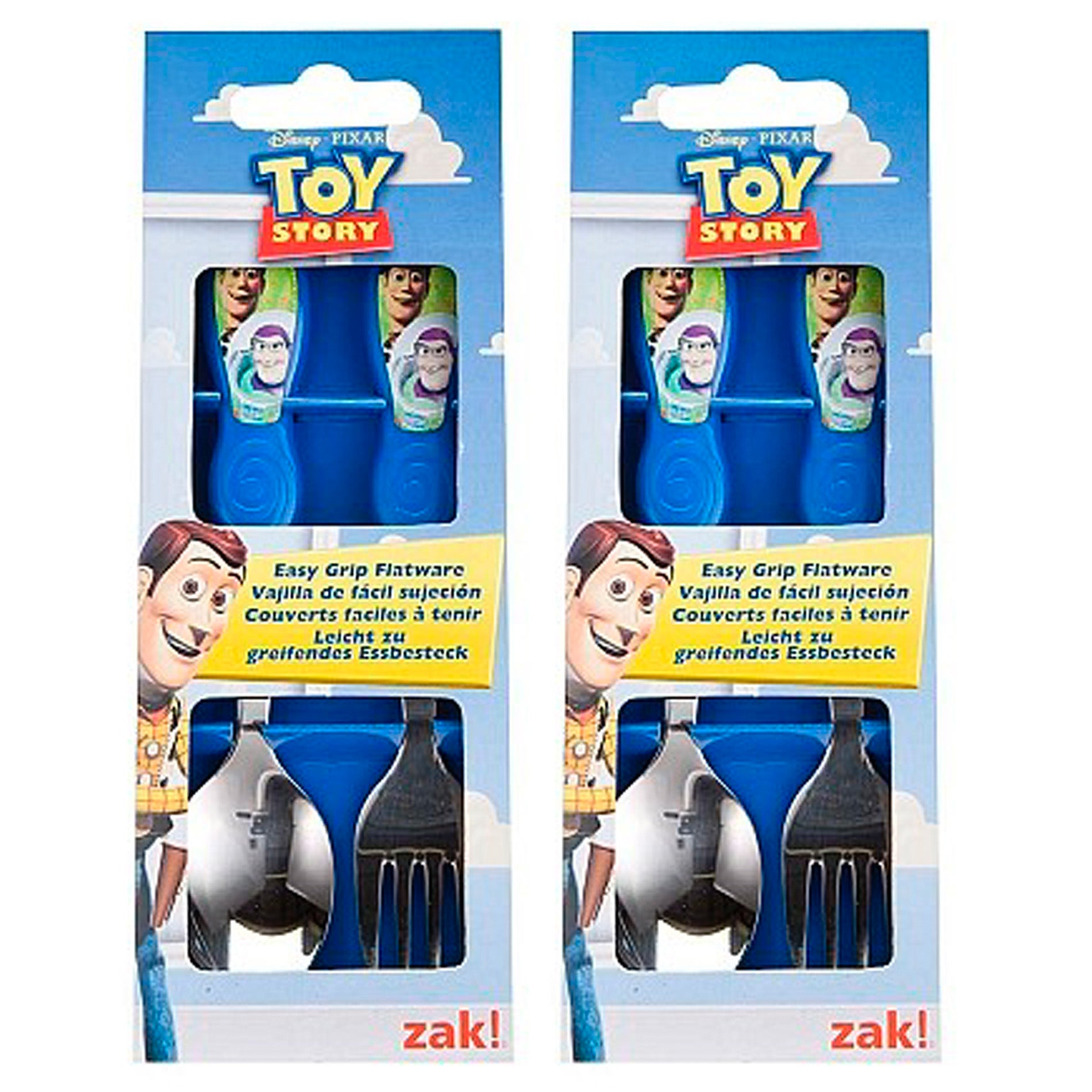 Toy Story Easy-grip 2-piece Flatware (Set of 2)
