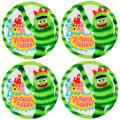 Yo Gabba 8-inch Plates (Set of 4)
