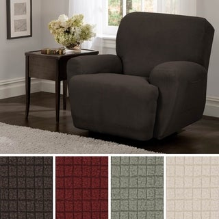 Maytex Reeves Stretch 4 piece Recliner Chair Furniture Cover Slipcover