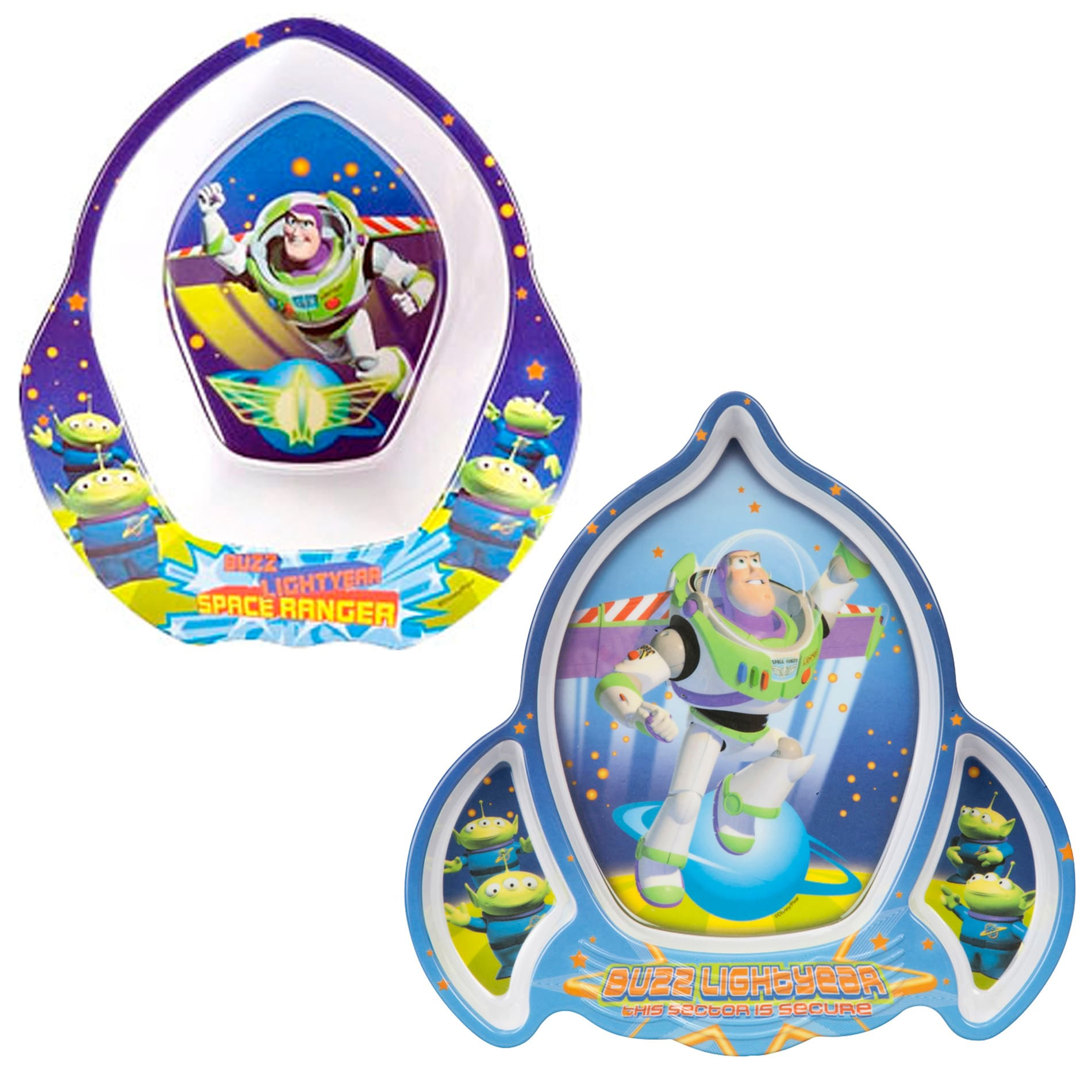 Toy Story Rocket Bowl and Plate Set