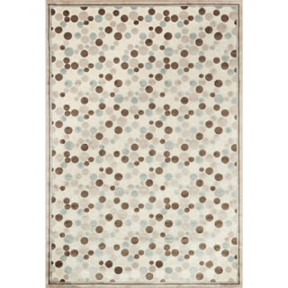 Madison Ivory/ Multi Area Rug (5'3 x 7'7)