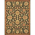 Madison Brown/ Rust Rug (3' 10 x 5' 7)