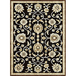 Madison Black/ Gold Rug (7' 7 x 10' 6)