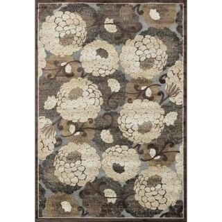 Madison Grey/ Beige Rug (5'3 x 7'7)
