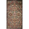Madison Brown/ Rust Rug (2'3 x 3'9)