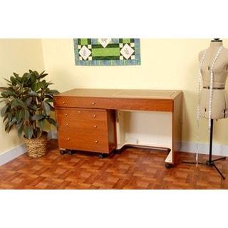 Kangaroo Kabinets 'Kangaroo & Joey' Crafts & Sewing Machine Table and Storage Organization Cabinet