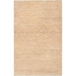 Hand-woven Bleach Hindi Natural Fiber Hemp Rug (8' x 11')