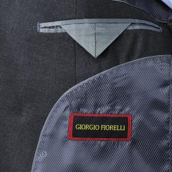 Giorgio Fiorelli Men's Charcoal Grey Double Breasted Suit