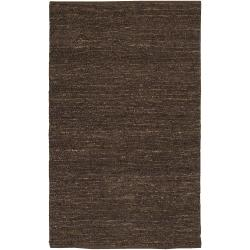 Hand-woven Brown Cardinal Natural Fiber Jute Rug (9' x 13')