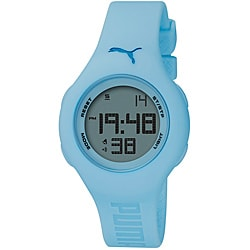 Puma Light Blue Digital Watch