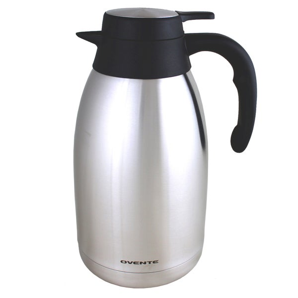 Ovente 2-Liter Stainless Steel Thermal Carafe
