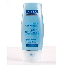 Nivea Visage Refreshing 5-ounce Cleansing Gel (Pack of 4)