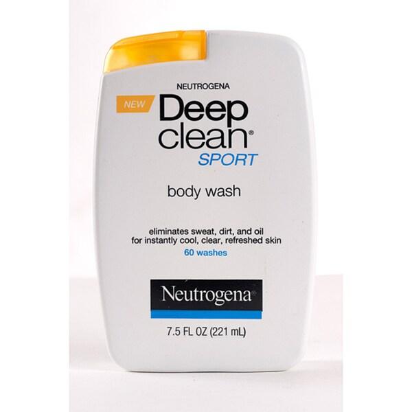 Neutrogena Deep Clean Sport 7.5-ounce Body Wash (Pack of 4)