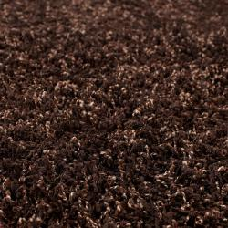 Woven Brown Contina Plush Shag (8' x 10')