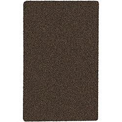 Woven Brown Contina Plush Shag (8' x 10')