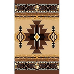 Concord Brown Rug (5' x 7')