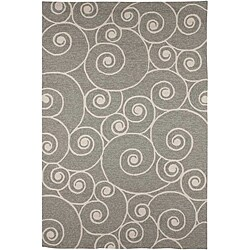 Hand Tufted White Wool And Art Silk Area Rug 2 X 3