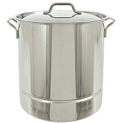 Bayou Classic 10-Gallon Tri-Ply Stainless Steel Stockpot