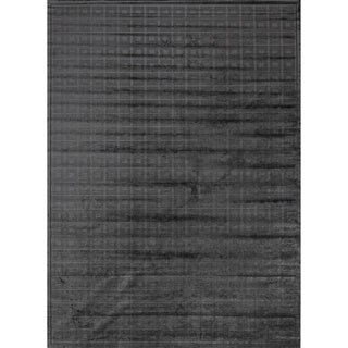Madison Charcoal Grey Chenille Rug (9'2 x 12'7)
