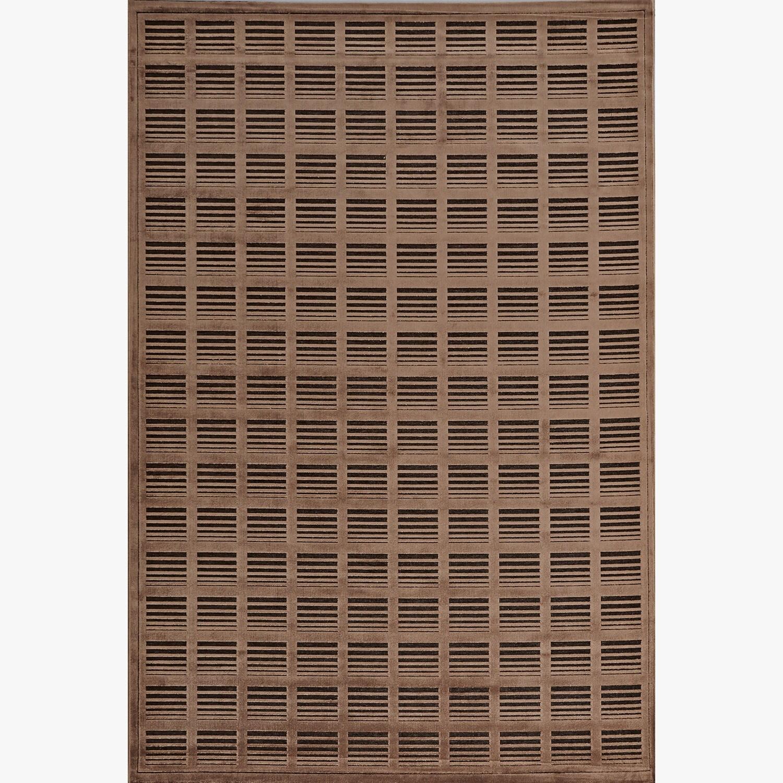 Alexander Home Madison Chocolate / Mocha Brown Rug (7'7 x 10'6)