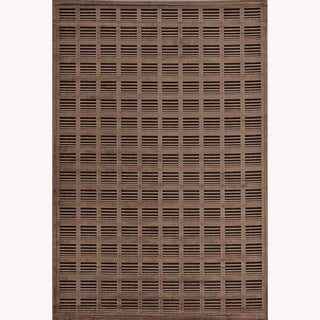 Madison Chocolate/ Mocha Brown Chenille Rug (9'2 x 12'7)