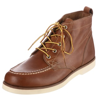 Sebago Men's 'Fairhaven' Tan Leather Chukka Boots