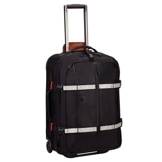 Victorinox Swiss Army CH-97 2.0 Black Expandable 25-Inch Wheeled Upright Luggage