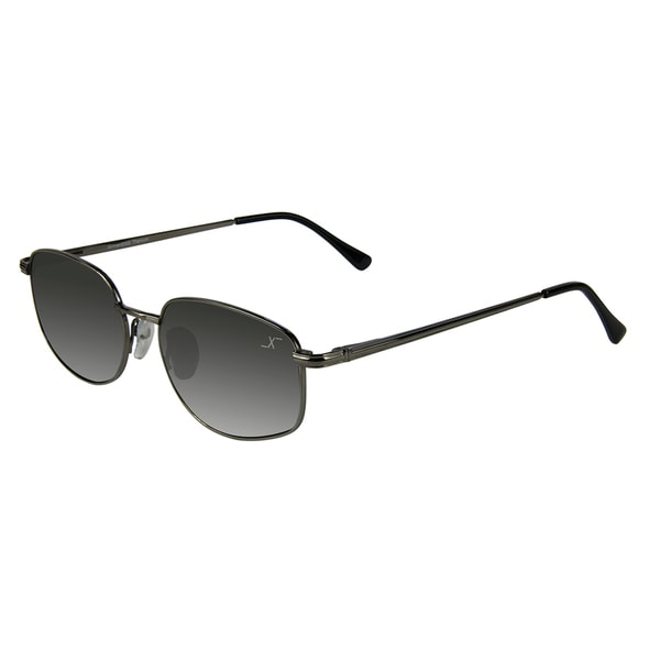 Xezo Men's 'Airman 2002' Titanium Aviator Sunglasses