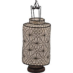 Decorative Large Cream Lantern