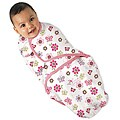 Summer Infant Girl's Small SwaddleMe Flutter Flowers Blanket