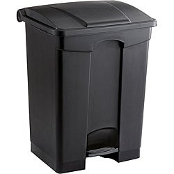 Safco Plastic 17 Gallon Step-On Receptacle