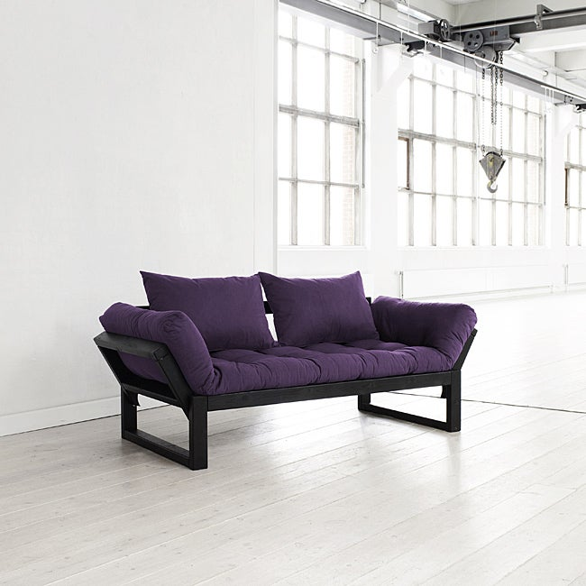 Fresh Purple Edge Futon