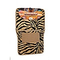 Oxgord Safari Zebra Beige Car Floor Mats (Set of 4)