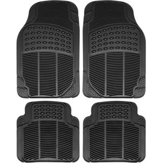Oxgord All Weather Black Car Floor Mats (Set of 4)