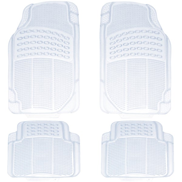 Oxgord All Weather Clear Car Floor Mats (Set of 4)