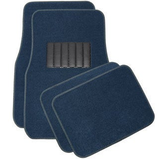 Oxgord Universal Blue Car Floor Mats (Set of 4)