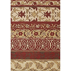 Alliyah Handmade New Zeeland Blend Beige New Zealand Wool Rug (8' x 10')