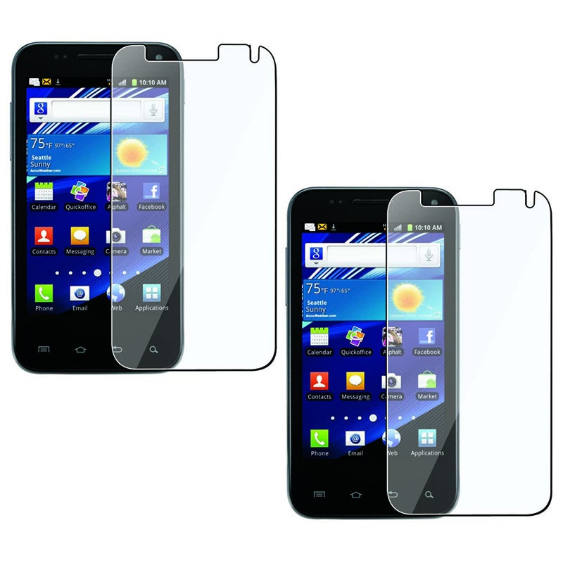 INSTEN Clear Screen Protector for Samsung Captivate Glide i927 (Pack of 2)