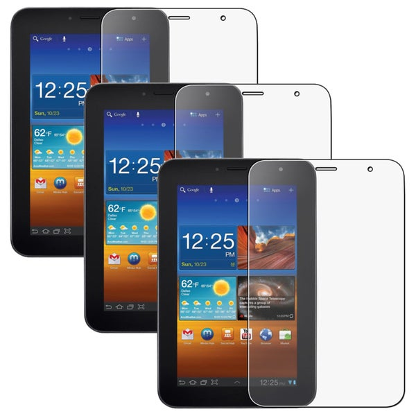 Anti-Glare Screen Protector for Samsung Galaxy Tab P1000 7.0 (Pack of 3)