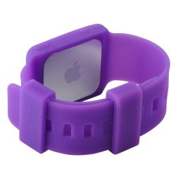 Purple Skin Case/ LCD Protector for Apple iPod Nano Generation 6