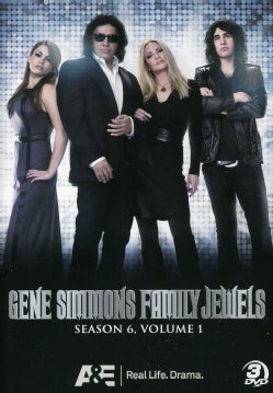 Gene Simmons Family Jewels: Season 6 Part 1 (DVD)