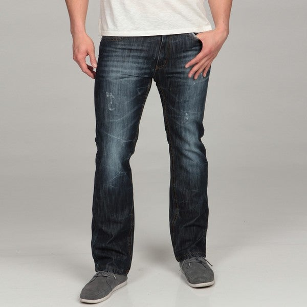 X-Ray Jeans Men's Straight Leg Denim Jeans