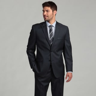 Joseph Abboud Men's Navy 2-button Wool Suit