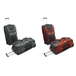 Sierra Club Half Dome 3-Piece Upright and Rolling Duffel Luggage Set