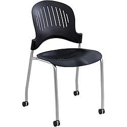 Safco Zippi Plastic Stack Chair (Set of 2)